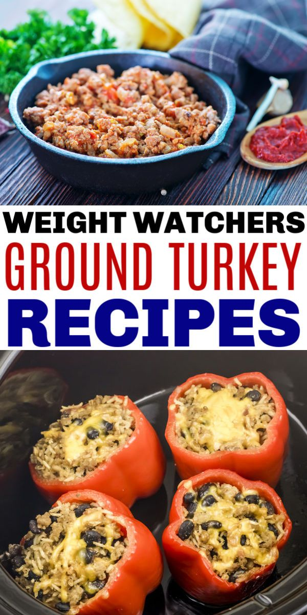 Photo of Weight Watchers Ground Turkey Recipes – Life is Sweeter By Design