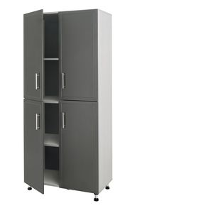 Closetmaid Pro Garage 36 Inch 4 Door Tall Cabinet Storage Kitchen Cabinet Storage Closetmaid