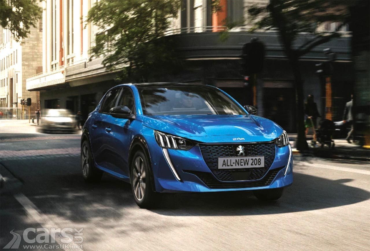 New Peugeot 208 Reservations open early including the