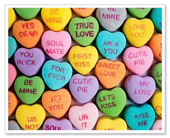 Sweetheart Candy Candy Art Converse With Heart Valentine Candy Hearts
