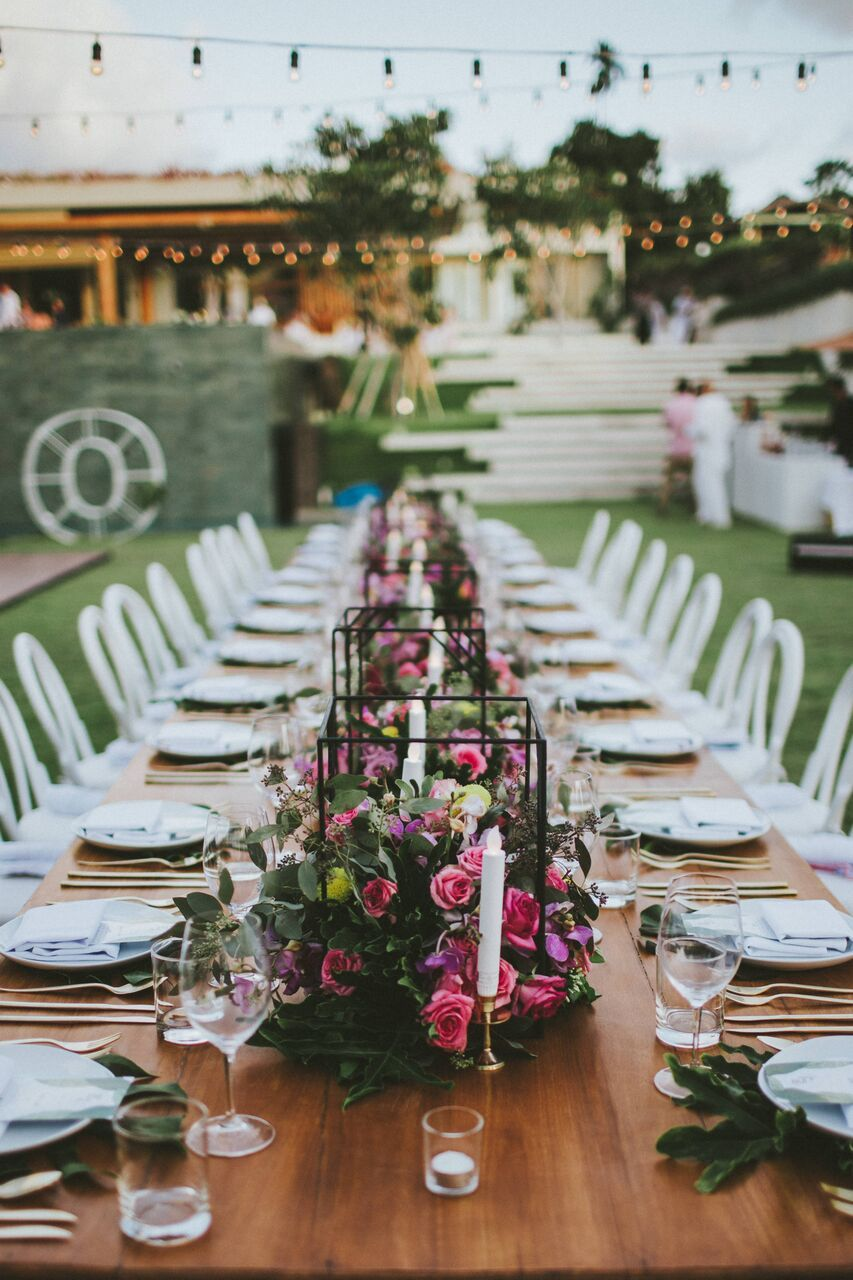 Decor Inspo | Reception | Wedding Table ideas | Bali Brides | Bali ...