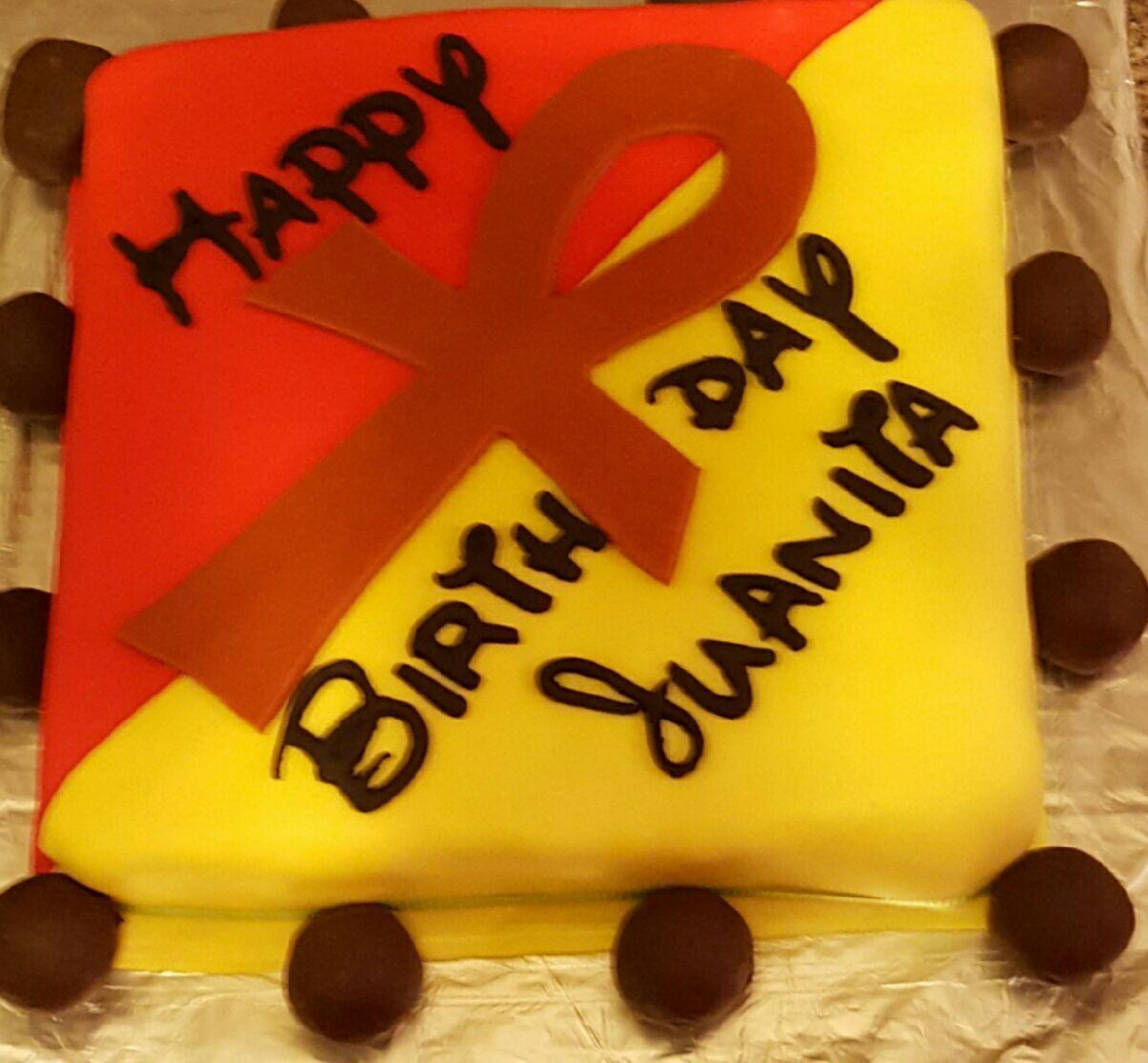 Sensational Wickedly Pink Facebook Ankh Birthday Cake Birthday Cake With Personalised Birthday Cards Veneteletsinfo