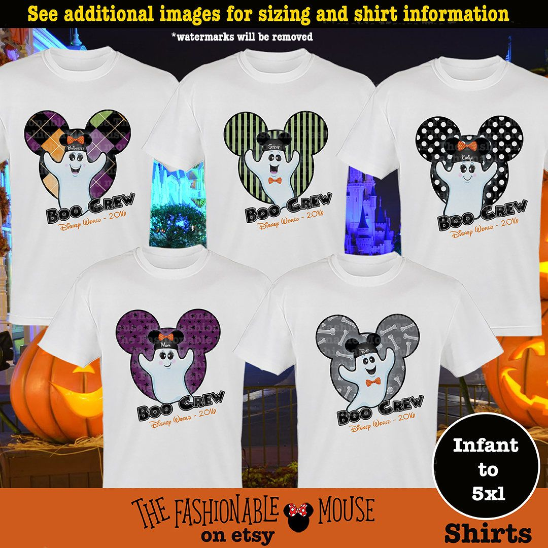 Disney Halloween Shirt Ideas.Mnsshp Family Shirt Disney Boo Crew Shirts Disney