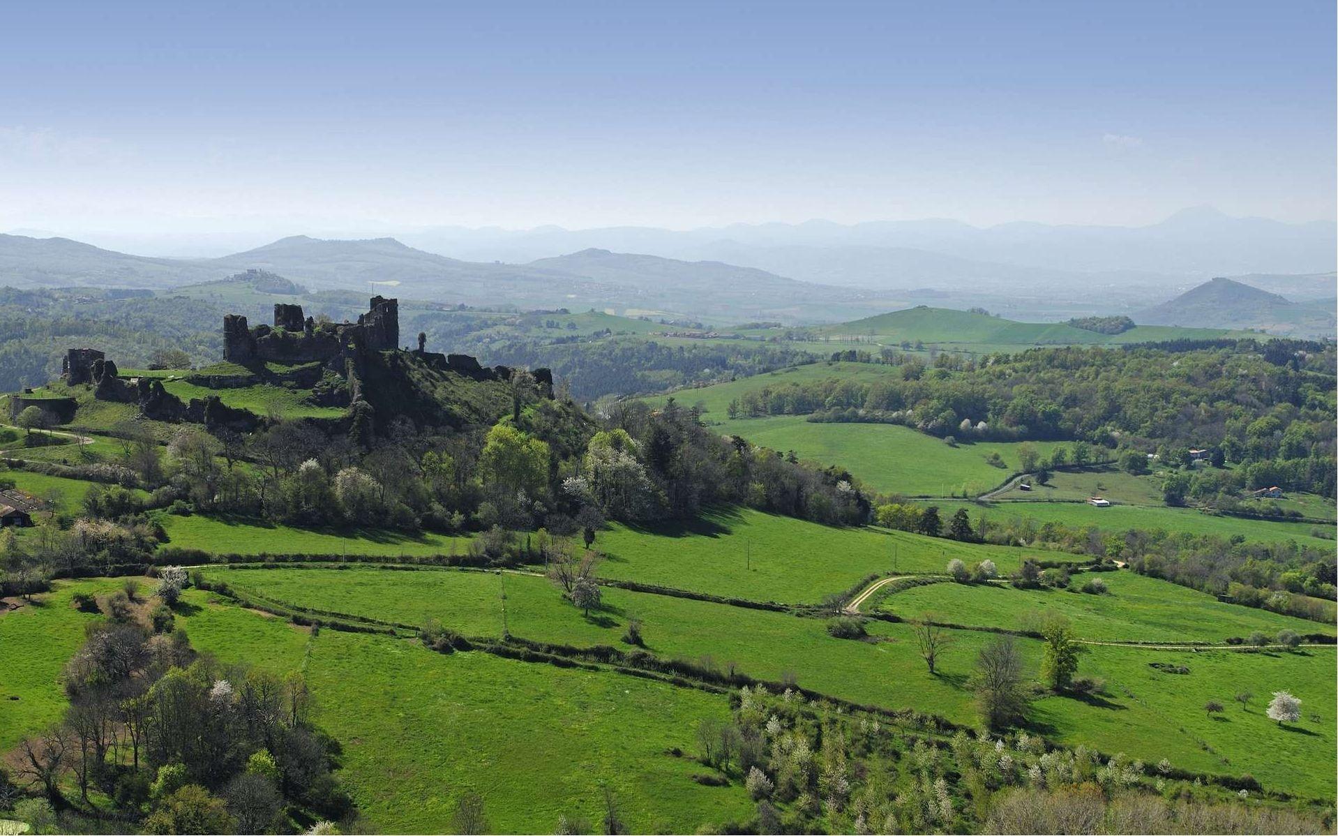 Les Monts de Forez berceau de la Fourme de Montbrison