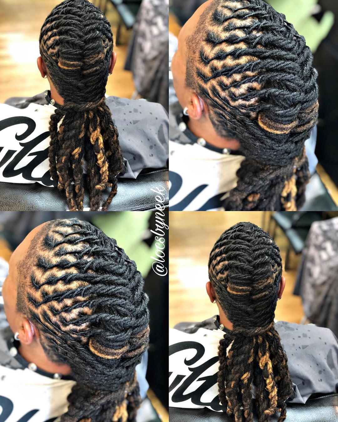 """Ms Neek on Instagram: """"Loc Maintenance & Freestyle️��Book your next appointment with Neek️ Click the link in bio! Providing quality loc maintenance and styling!…"""""""