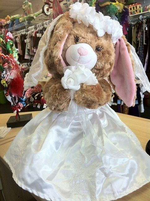 Build A Bear Wedding Bunny With Second Outfit