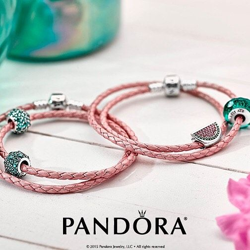 Pandora Jewelry Towson: How CUTE Are These Leather Bracelets....and That