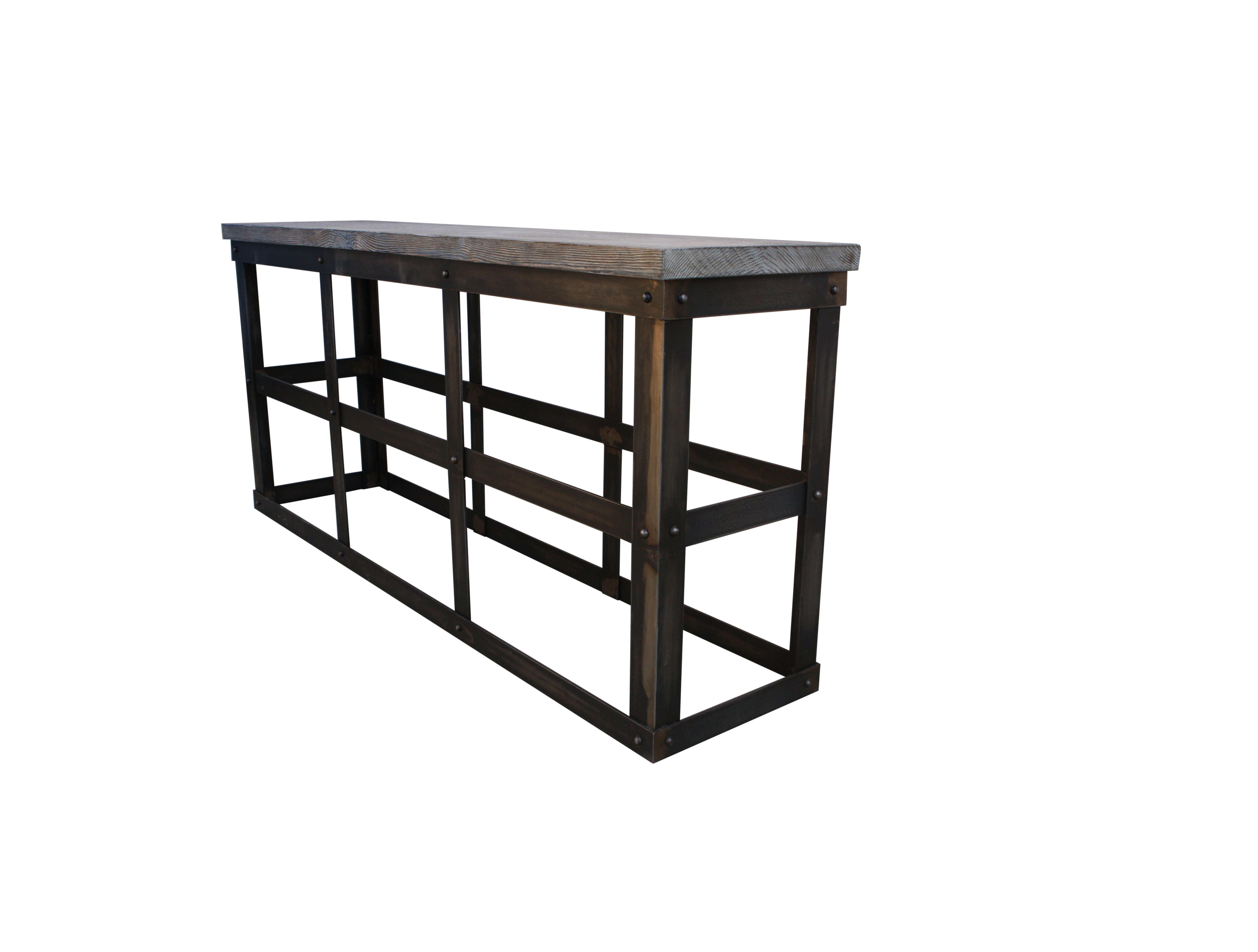Haven't really seen an #Industrial #Sofa #Table - I like it!