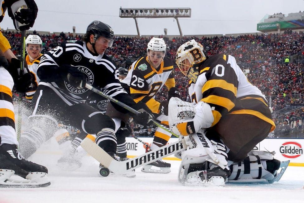 Nhl Winter Classic Digital Fan Engagement Leads To Tv Rating Recovery 2019winterclassic Topstory Nhl Winter Classic Bruins Blackhawks