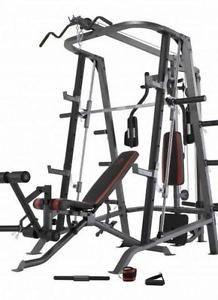 Liquidation 7 Smith Machine Cage Squat Rack Fermeture Smith Machine Squat Rack Machine