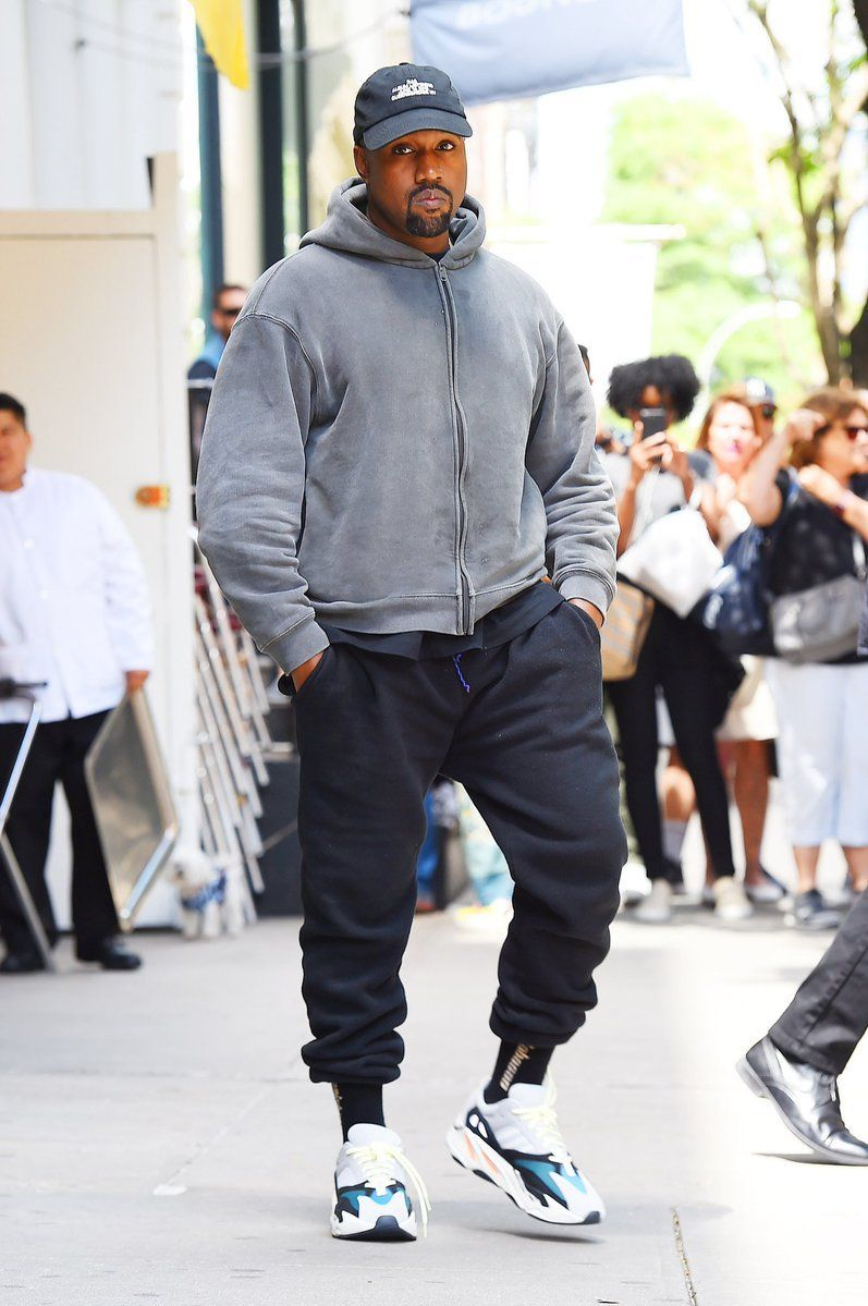 Kanye Nyc Kanye West Outfits Streetwear Men Outfits Kanye West Style