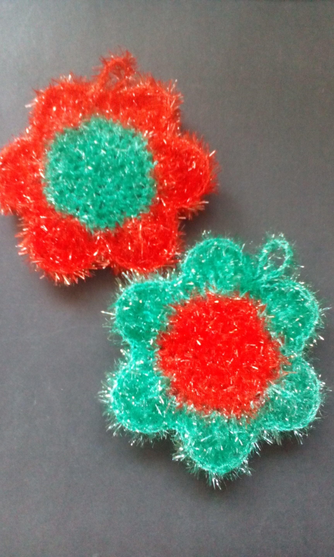 Spülschwamm Blume Aus Creative Bubble Von Rico Scrubbies Bubbles
