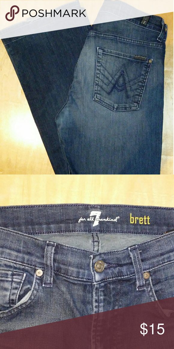 ef834b560bb Used Women's 7 Seven For All Mankind Jeans All clothes have been washed  thoroughly or have