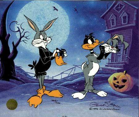 Trick or Treat? | Looney tunes cartoons, Daffy duck ...