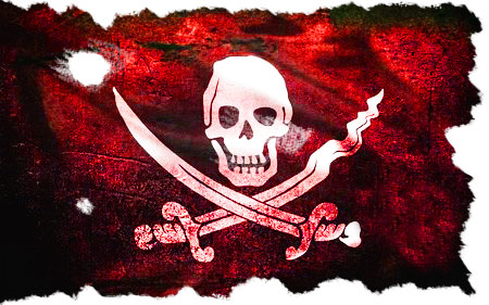 Most Pirates Flew Under A Black Flag But Did You Know That A Red Flag Meant No Mercy Pirates Skull Art Red Flag Meaning