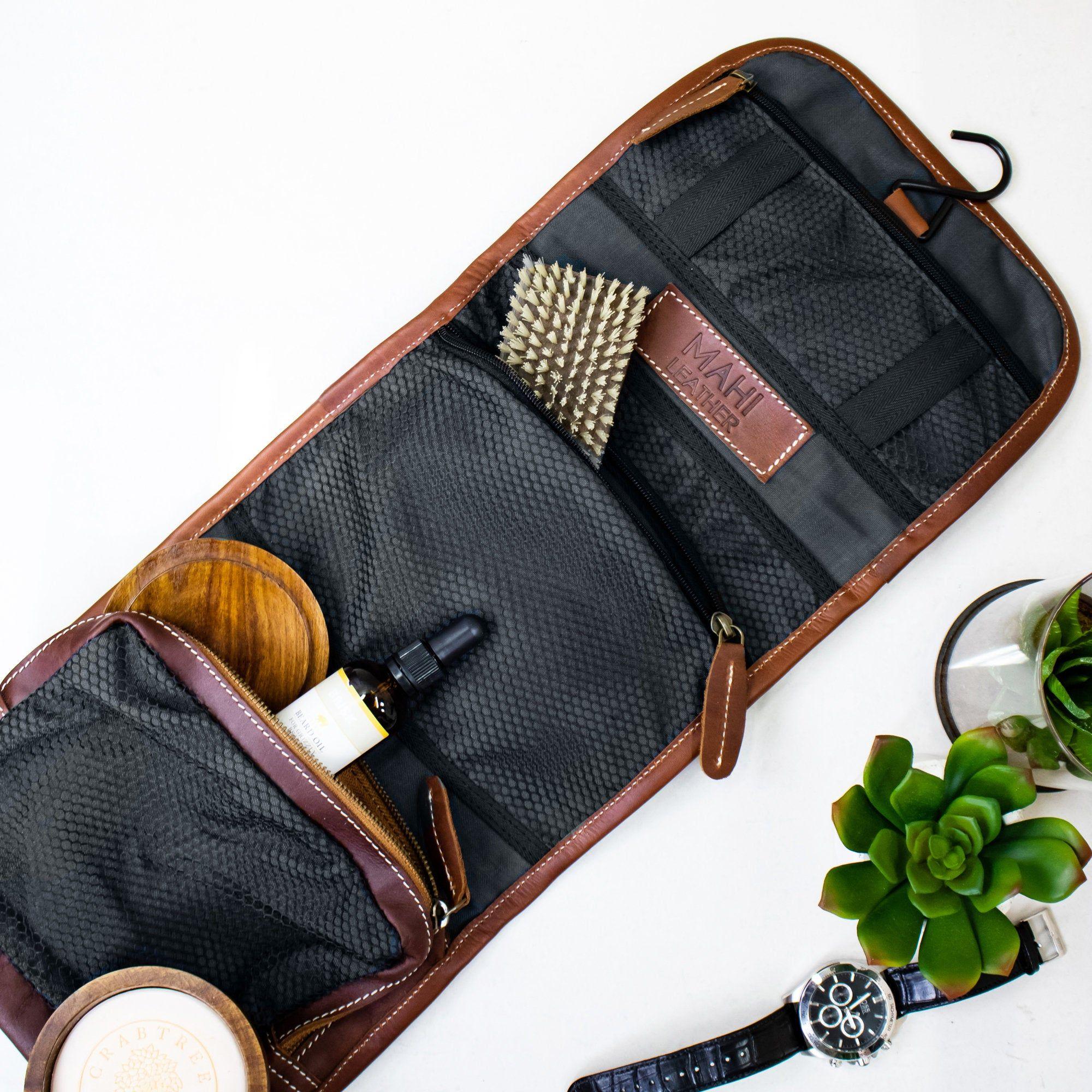 Wash Bag Grooms mens gifts dopp kit toiletry bag washbag mens case