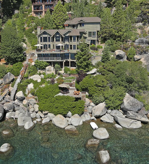 """Lakefront Luxury Homes: """"Lakefront Perfection"""" In Crystal Bay, NV"""