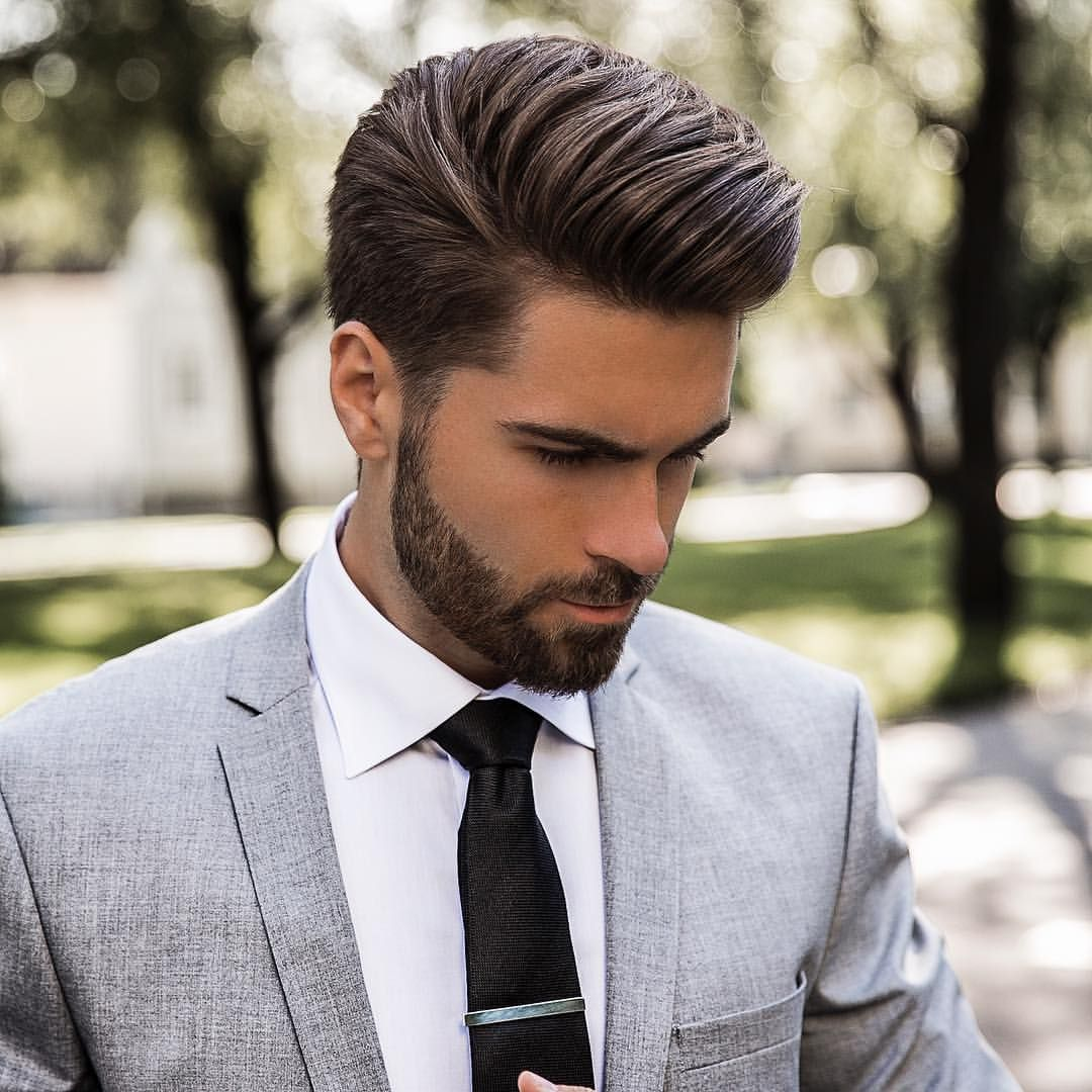 Prom Hairstyles Men: Pin Em Hair