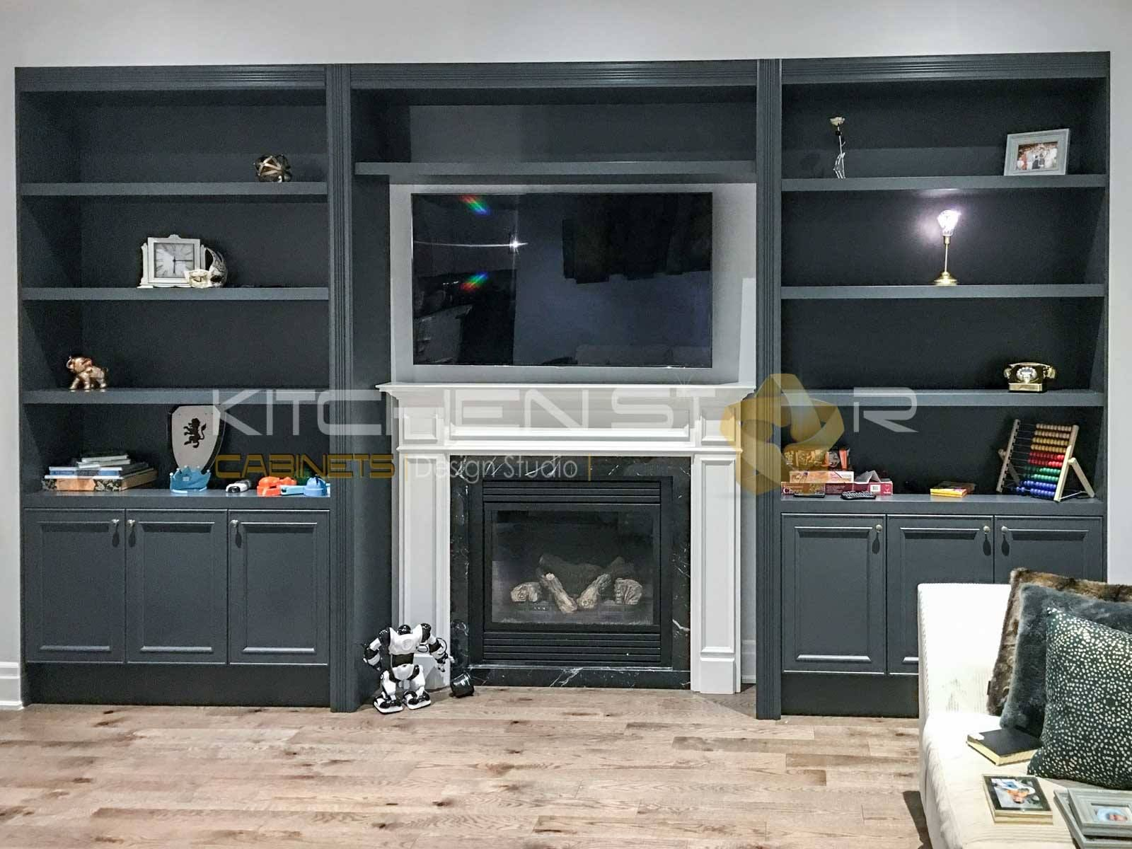 Custom Wall Unit | Kitchen Star Cabinets Http://www.kitchenstarcabinet.com