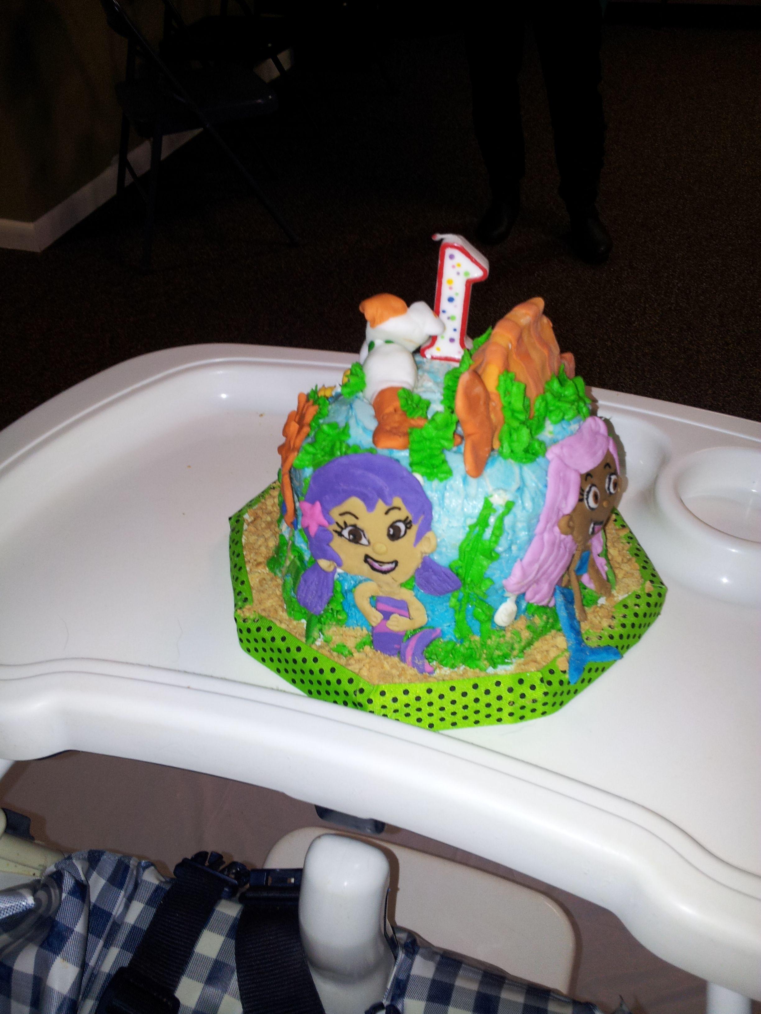 Side 4 Bubble Guppy Cake Diy Stuff I Make Pinterest Bubble