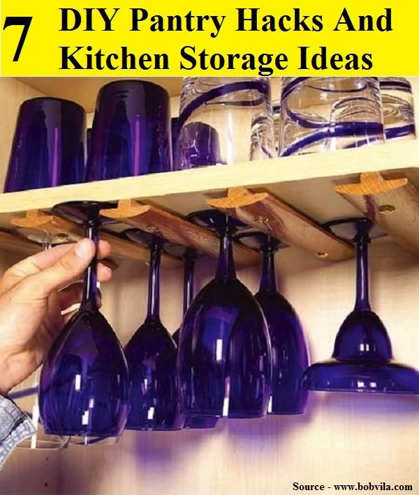 7 diy pantry hacks and kitchen storage ideas for more creative