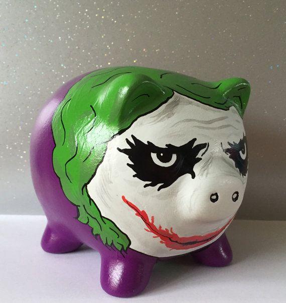 DC inspired The Joker Heath Ledger themed by PigsMightFlyDesigns