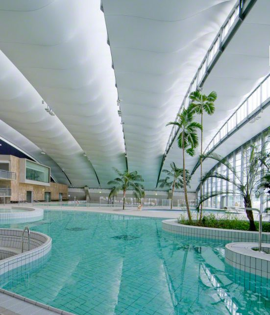 Stretch Ceiling For Swimming Pools Barrisol 3d Form Barrisol Ceiling Design Pinterest Ceilings