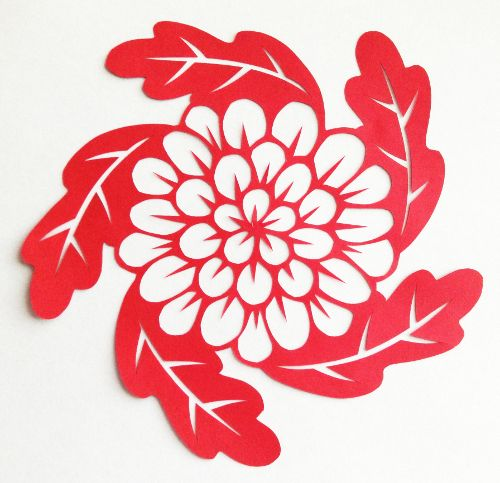 Cut paper design flower leaf circle templates pinterest paper cut paper design flower leaf circle mightylinksfo