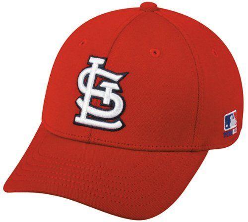 6123bd87bcf MLB Bamboo Flex-Fit St. Louis CARDINALS Lg XL Home Red Hat Cap ...