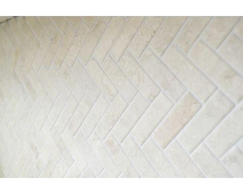 Natursteinmosaik Xms 549 30 5x32 5 Cm Weiss Natursteinmosaik Mosaik Und Fliesenverlegung