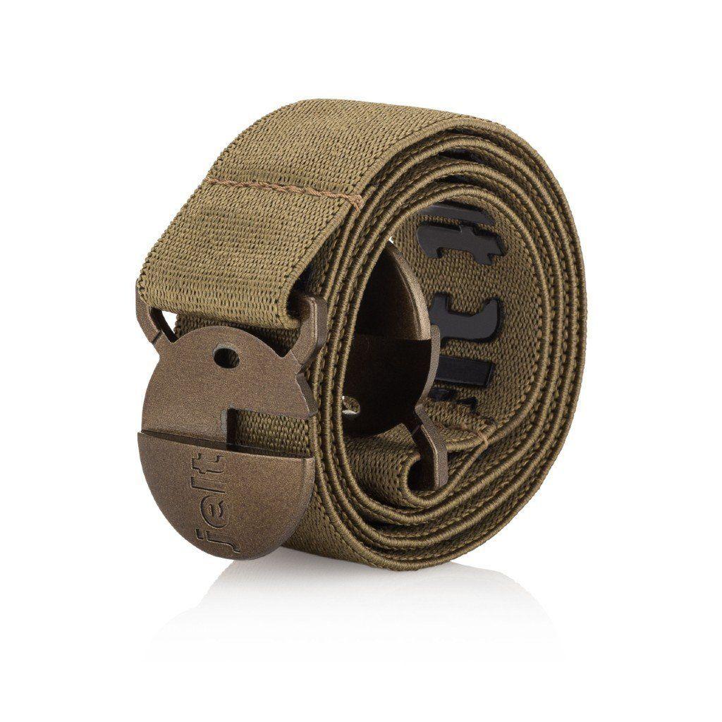 Khaki Green Elastic Belt – X-Small