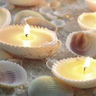 Sea Shells candles, Kitira