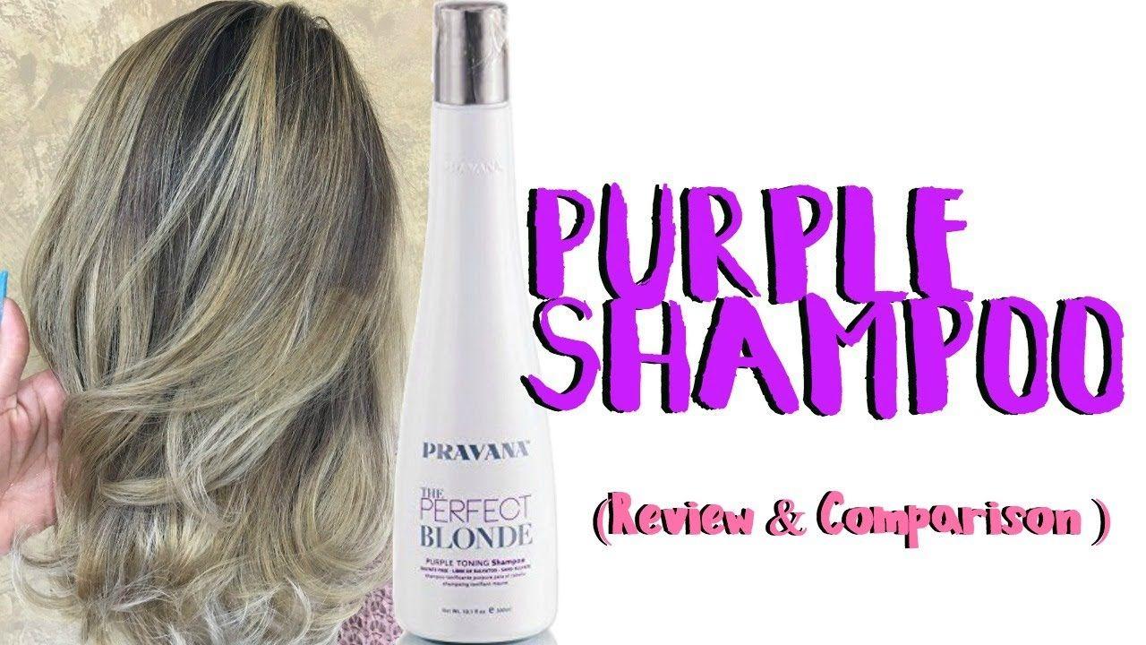 Pravana Purple Shampoo Review Comparison Toning Reviews