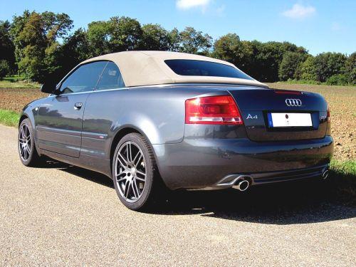 Audi A4 B78h Cabriolet 20 Tfsi 17961 Audi A4 B6 Cabriolet