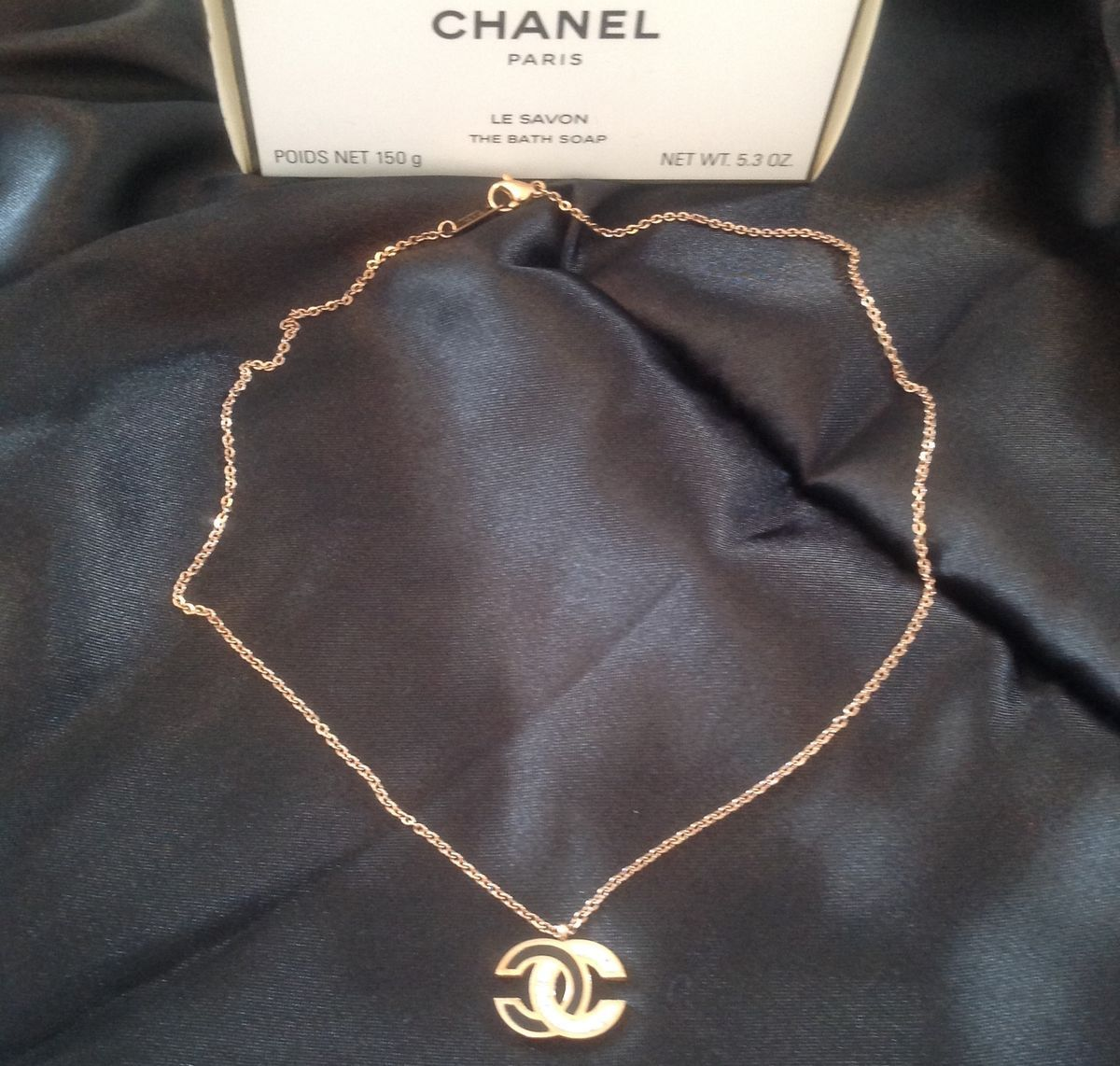 c2e964da1 Chanel style CC necklace in 2019 | Chanel sewing patterns | Chanel ...