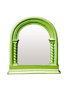 Mark Vitulano - Green Gothic Arch Top Mirror With Columns: https://www.homesav.com/login?urc=wM72YxXYIEi