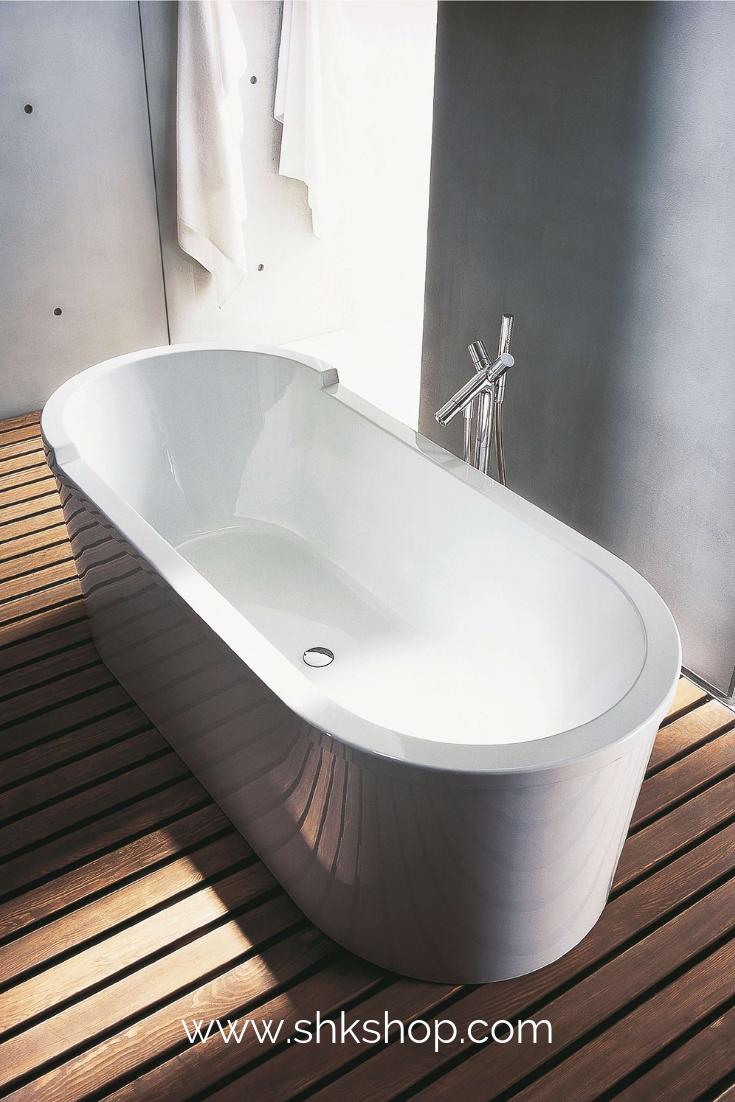 Duravit Starck Oval Badewanne Freistehend 180x80cm Zwei R Ckenschr Gen 700010 Mit Acrylverkleidung Und Gestell Ovale Badewanne Badewanne Und Badezimmerideen