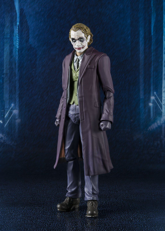 DC Bandai SH Figuarts Batman Joker The Dark Knight Action Figure