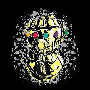 Marvel Avengers Infinity War Fist Comic Women's T-Shirt - Black