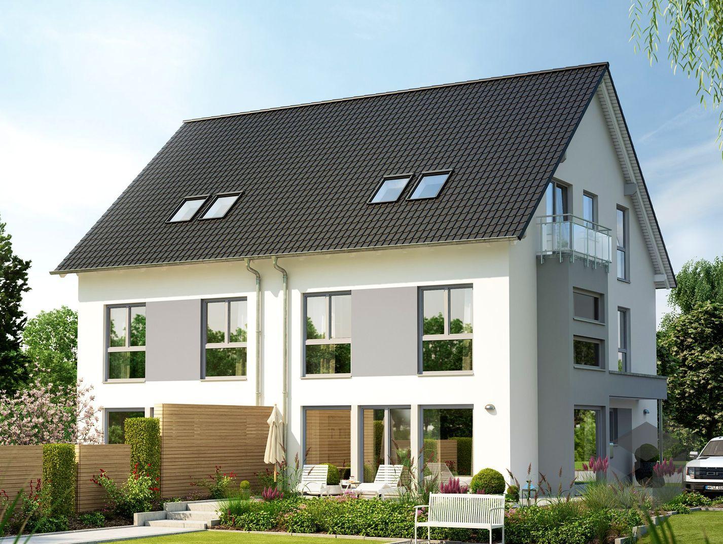 solution 126 xl v2 von living haus by bien zenker satteldach haus. Black Bedroom Furniture Sets. Home Design Ideas