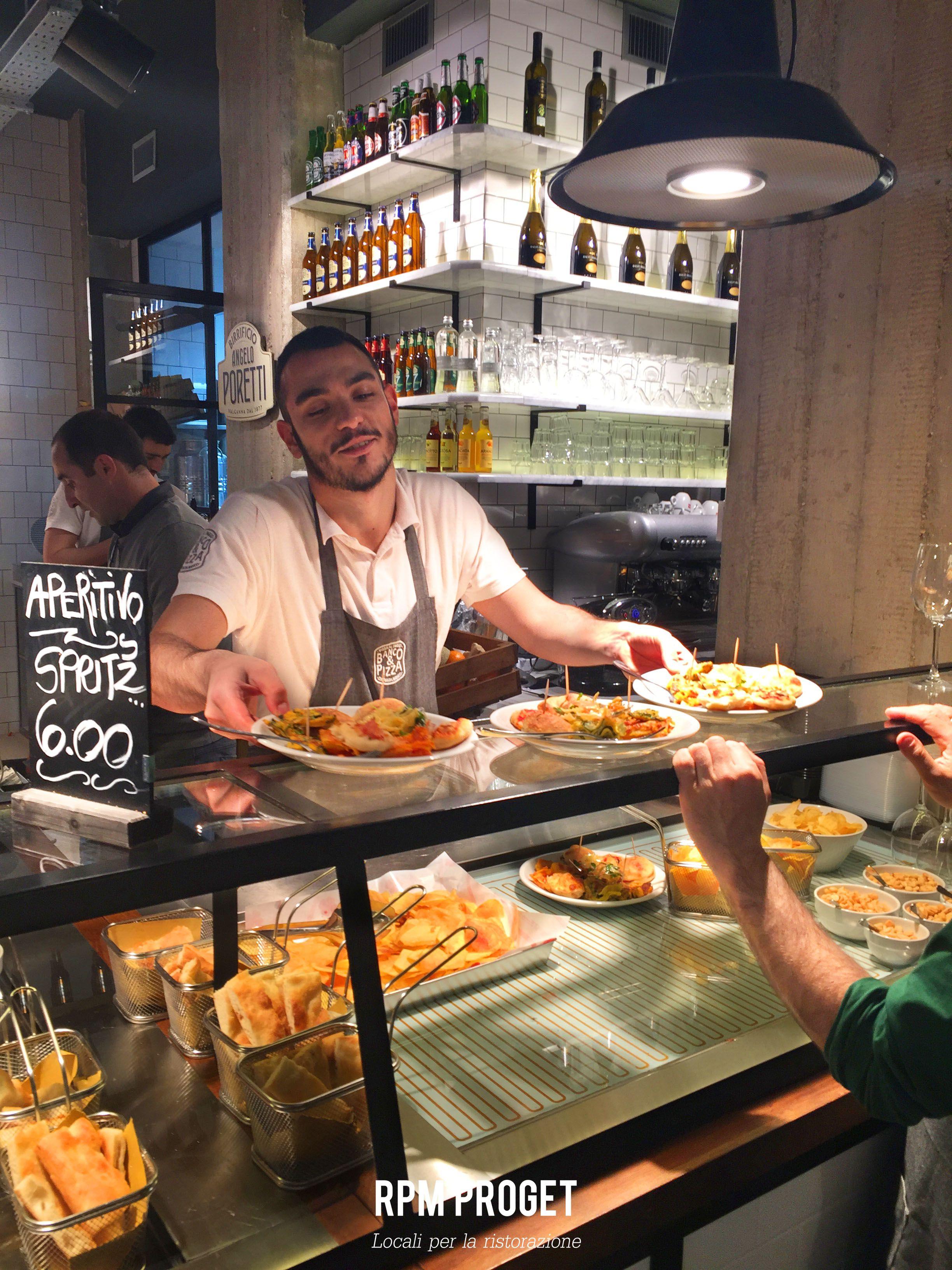 banco&pizza - pizza al taglio e cucina da banco. via delle, Hause ideen