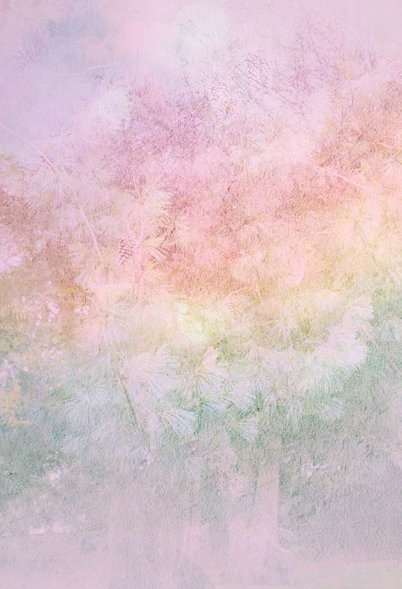 Pink  Abstract Texture Art  Photography Backdrop for Photographers LV-1220 - 3'W*5'H(1*1.5m)
