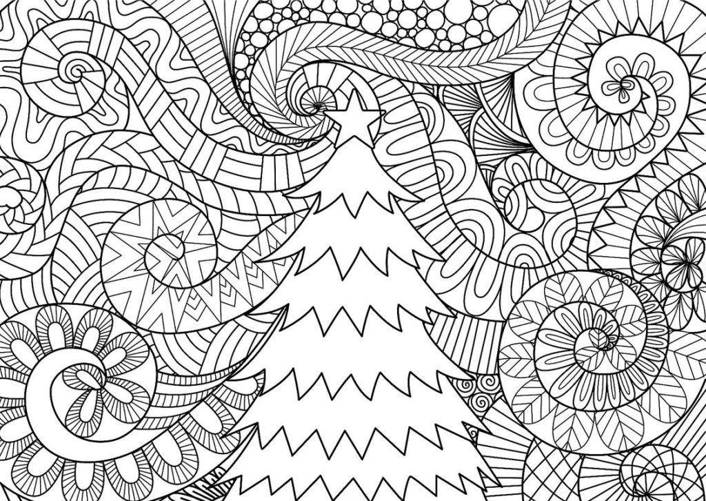 Winter Coloring Pages Christmas coloring pages