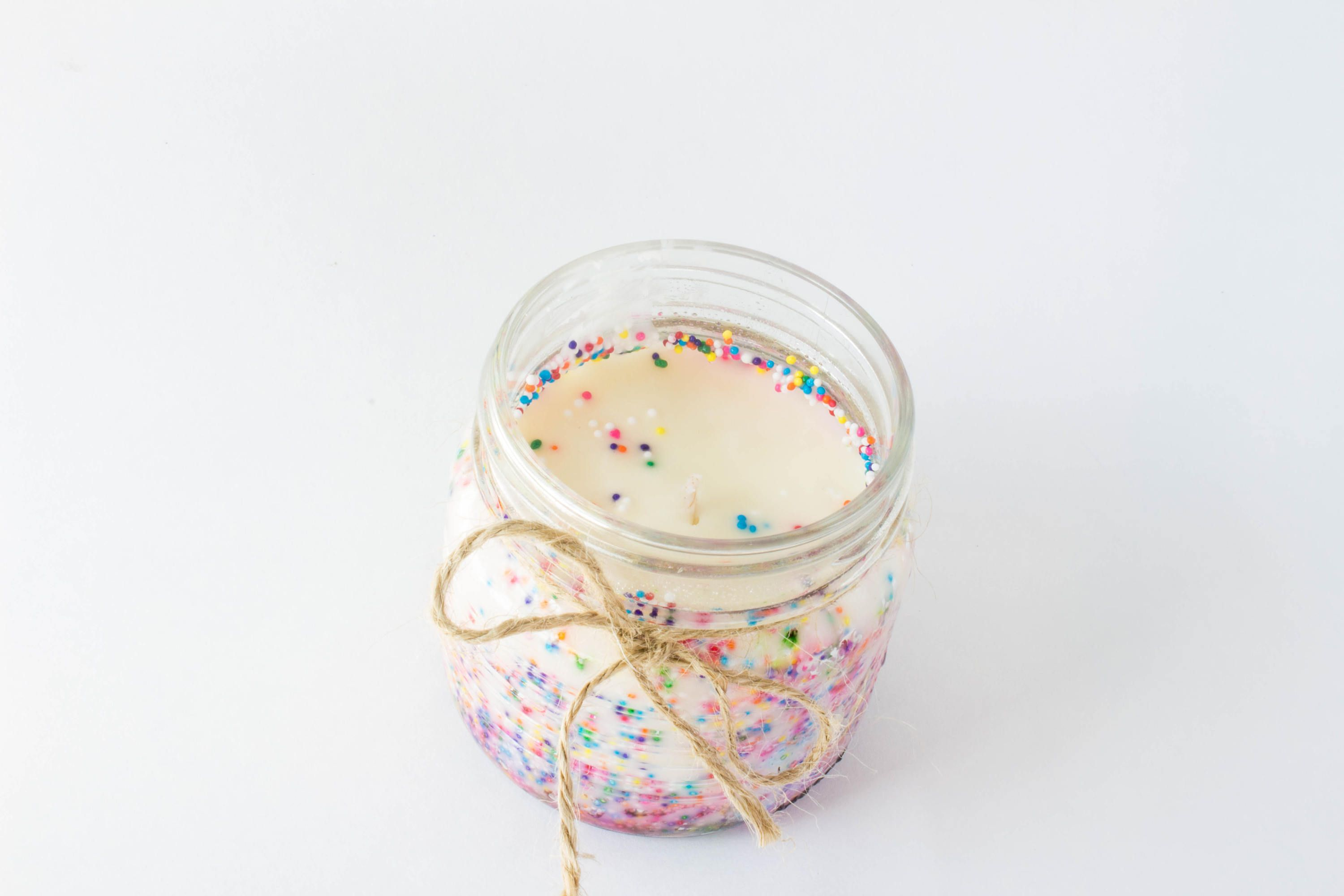Swell Birthday Cake Scented Candle Cake Scented Candle Mason Jar Funny Birthday Cards Online Unhofree Goldxyz