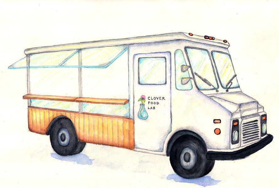 Truck Sketch 889x600
