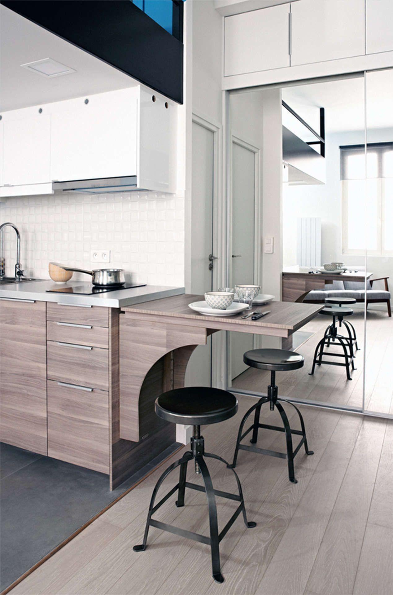Superbe Design Et Modularité Pour Une Table Dans La Cuisine