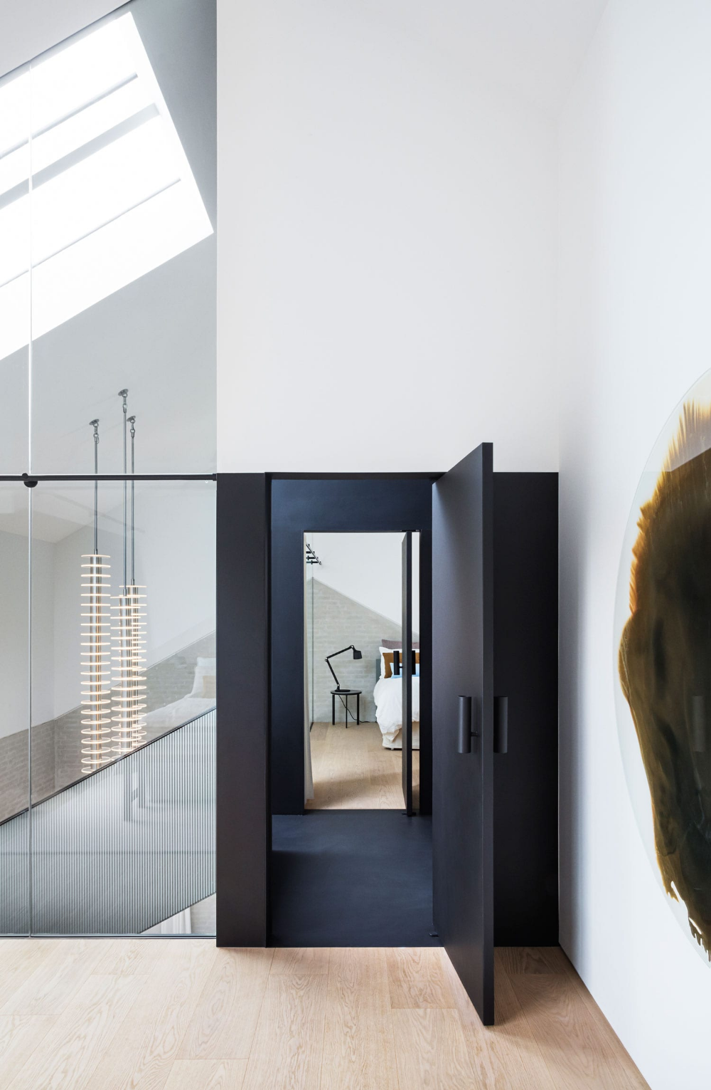Vipp Chimney House Copenhagen By Studio David Thulstrup House Living Spaces Arched Windows