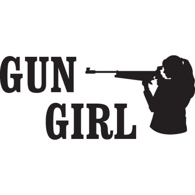 GUN DECALS Home Decals Gun Decals Gun Girl Decal Love - Custom gun barrel stickersgun decals shotgun barrel sticker shooting ammo decal