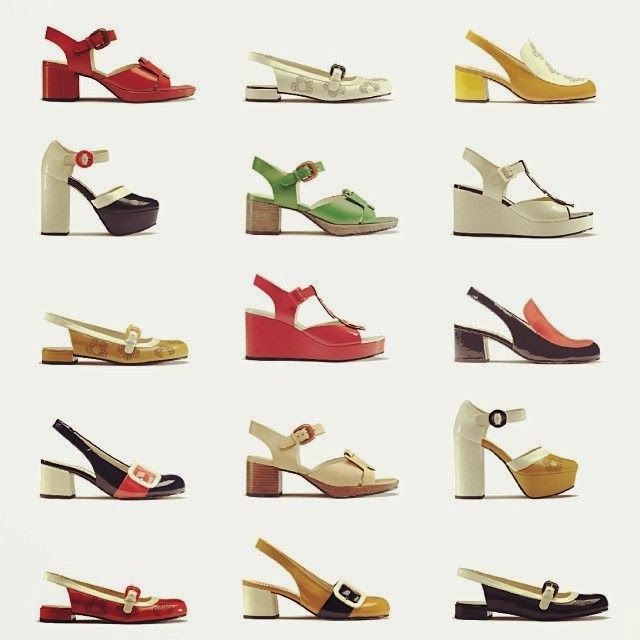 Clarks Sixties Inspired Style Zapatos For Orla Kiely Sixties O4BqRnqWz