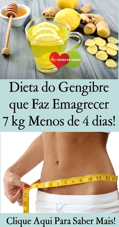 Dieta do Gengibre que Faz Emagrecer 7 kg em Menos de 4 dias! #dietadogegibre #dietadogengibreparaema...